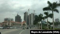 Marginal de Luanda, Angola, le 14 octobre 2015.