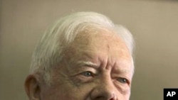 Former President Jimmy Carter, 12 Oct 2010