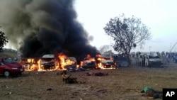 Žrtve eksplozije na autobuskoj stanici, Abudža, april, 14. 2014.