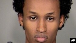 FILE - Mohamed Osman Mohamud is seen in an image provided by the Mauthnomah County Sheriff's Office.