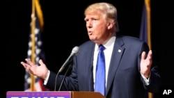 Raja real estate, Donald Trump masih memimpin kontes nominasi bakal calon presiden AS dari Partai Republik untuk pemilu tahun 2016 (foto: dok).