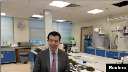 anyang Technological University (NTU)'s Director of Food Science and Technology Programme William Chen poses in Singapore September 16, 2021. Picture taken September 16, 2021. REUTERS/Travis Teo
