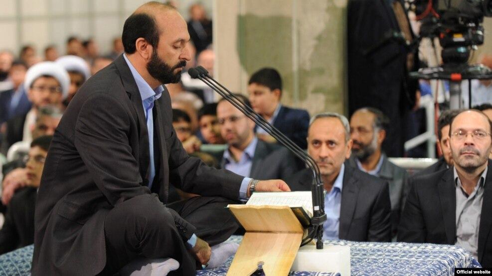 قرآن خوانی سعید طوسی در بیت رهبر جمهوری اسلامی
