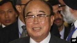 Министр иностранных дел КНДР Пак Ы Чун (архивное фото)