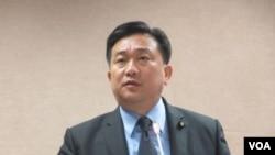 台灣執政黨民進黨立委王定宇。 (資料照片)