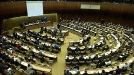 유엔 인권이사회 회의장. (자료사진)