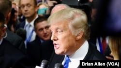Debatın ardınca müxbirlərlə danışan Tramp səsvermənin nəticələrini qəbul edəcəyini təsdiqlədi.