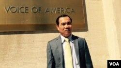 Ông Um Sam An, thành viên Đảng Cứu quốc Campuchia (CNRP).