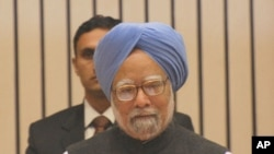 India Prime Min. Manmohan Singh addressing Delhi Sustainable Development Summit, in New Delhi, India, 05 Feb 2010