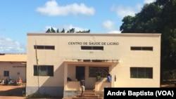 Uma das vítimas de rapto foi tratada neste Centro de Saúde, Milange, Zambézia, Moçambique