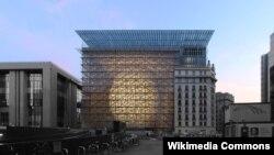 벨기에 브뤼셀에 소재한 유럽의회 본부.