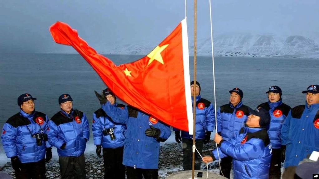 中國2001年10月31日在北極圈內設立考察站(美聯社)