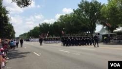 美国首都华盛顿为庆祝独立日举办游行 (2018年7月4日)