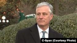 白宫国家安全顾问奥布莱恩(Robert O'Brien)6月初在华盛顿。