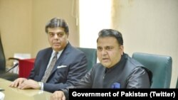 Pakistan's New Minister for Information Fawad Chaudhry