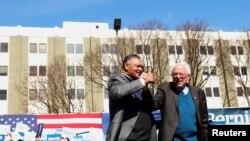 Sveštenik Jesse Jackson podržao Bernija Sandersa