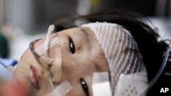 温州动车事故幸存2岁女孩项炜伊