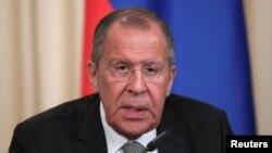 روس کے وزیر خارجہ سرگئی لاروف، فائل فوٹو