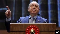 Turkiya rahbari Rajab Toyib Erdog'an