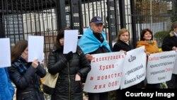 Qrim tatarlari Kiyevda namoyish o'tkazdi