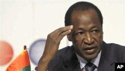 Shugaba Blaise Compaore na kasar Burkina Faso.