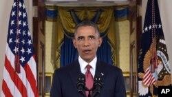 Le président Barack Obama lors de son discours à la nation sur sa stratégie pour lutter contre le terrorisme (Reuters)