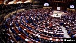 Arhiva - Plenarna sednica Saveta Evrope, u Strastburu. 8. oktobra 2012.