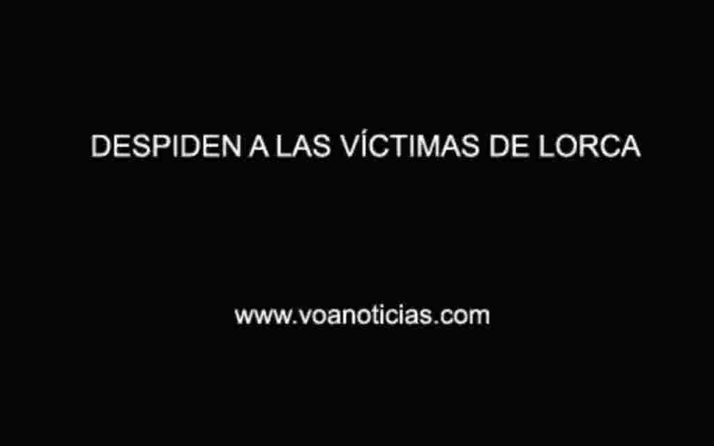 Despiden a las víctimas de Lorca