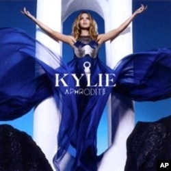 "Kylie Minogue's ""Aphrodite"" CD"