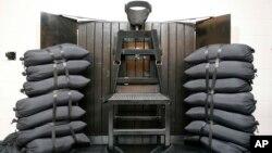 Phòng xử bắn tại nhà tù ở Draper, bang Utah.