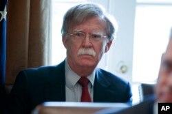 Tân Cố vấn An ninh Quốc gia Mỹ John Bolton. Ảnh chụp ngày 9/4/2018