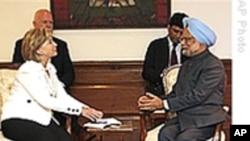 克林顿国务卿与印度商讨打击恐怖