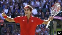 Petenis Roger Federer dari Swiss siap merebut kembali gelar di AS Terbuka (Foto: AP)