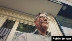 محمد نوری زاد با چهره خون آلود