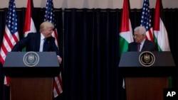 Президенти Трамп і Аббас у Віфлеємі