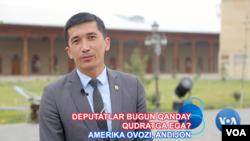 Jahongir Djiyanov 31 yoshda. 10 yildan beri Andijon siyosiy hayotida faol.