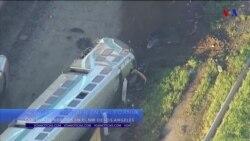 Decenas de heridos deja accidente de tren