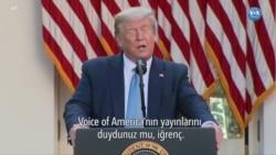 Trump'tan Amerika'nın Sesi'ne Eleştiri