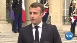 "Attentats au Sri Lanka : Macron exprime ""sa tristesse"""