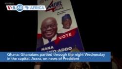 VOA60 Afrikaa - Ghanaians Re-Elect President Nana Akufo-Addo