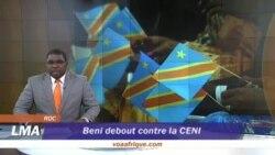 Manifestation à Beni