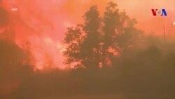La Californie lutte contre les incendies