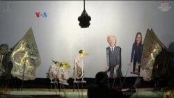 'Joe Biden and Kamala Harris' Guest Star in Wayang Kulit Performance