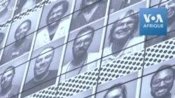 Des portraits de soignants réalisés par l'artiste JR affichés sur l'Opéra Bastille