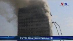 İran'da Bina Yıkıldı Onlarca Kişi Öldü