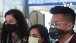 被取消记者证的美国记者离开中国