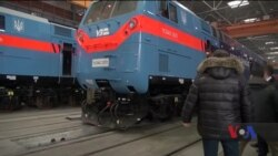 """Перші локомотиви зі США вже працюють на """"Укрзалізниці"""". Відео"""