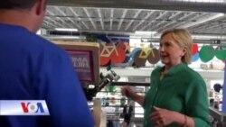Ông Trump chê truyền thông thiên vị, bà Clinton vẫn tập trung vào kinh tế