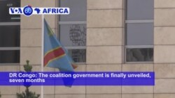 VOA60 Africa - DRC unveils coalition government