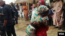 BOKO HARAM: Bikin murnar sako wasu 'yan matan Chibok